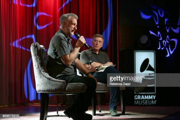 Billy Bragg speaks with Founding Executive Director of the GRAMMY Museum Bob Santelli at Roots Radicals and Rockers How Skiffle Changed the World...