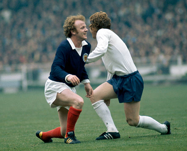 UNS: In The News: England V Scotland - Old Rivals