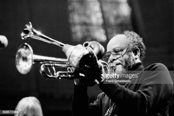Billy Brooks trumpet performs at the Paradiso on 27th October 1996 in Amsterdam Netherlands