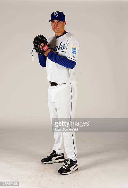 Billy Buckner of the Kansas City Royals poses for a portrait during Photo Day at Surprise Stadium on February 25 2007 in Surprise Arizona