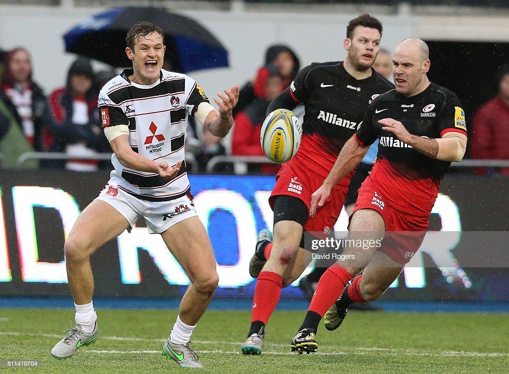 Saracens v Gloucester Rugby - Aviva Premiership : News Photo