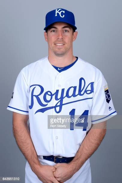 Billy Burns of the Kansas City Royals poses during Photo Day on Monday February 20 2017 at Surprise Stadium in Surprise Arizona