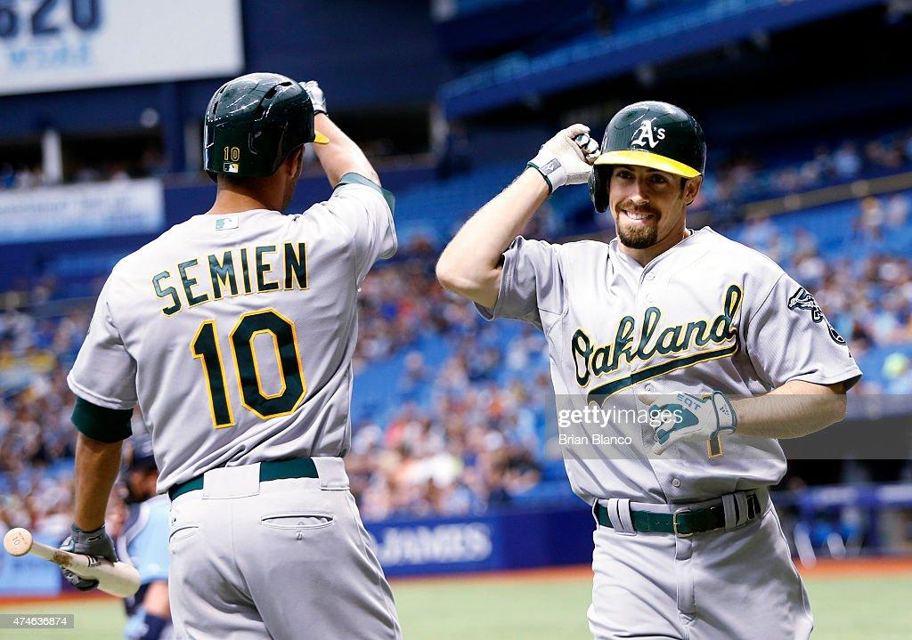 Oakland Athletics v Tampa Bay Rays : News Photo