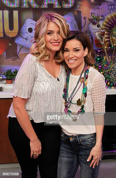 THE CHEW Billy Bush and Kit Hoover are the guests today Tuesday February 9 2016 on Walt Disney Television via Getty Images's The Chew The Chew airs...