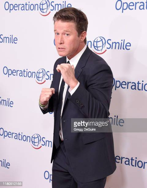 Billy Bush arrives at Operation Smile's Hollywood Fight Night at The Beverly Hilton Hotel on November 6, 2019 in Beverly Hills, California.
