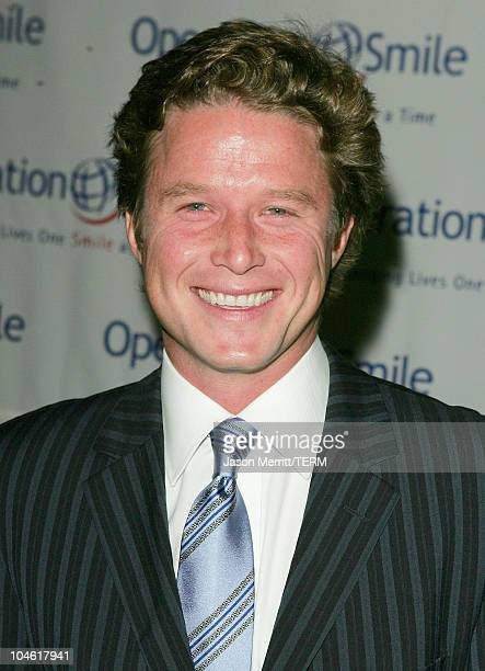 Billy Bush during Operation Smile 4th Annual Los Angeles Gala at Regent Beverly Wilshire Hotel in Los Angeles, California, United States.