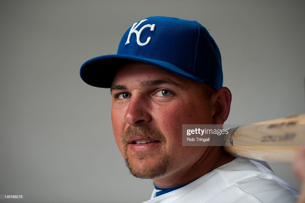 Billy Butler #16 of the Kansas City Royals poses during photo day at the Surprise Sports Complex on February 29, 2012 in Surprise, Arizona.