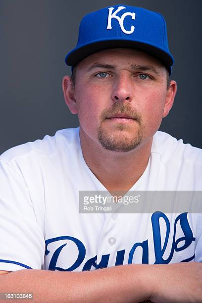Billy Butler of the Kansas City Royals poses for a portrait on photo day at the Surprise Sports Complex on February 21 2013 in Surprise Arizona