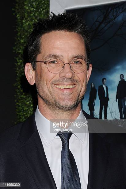 Billy Campbell arrives at AMC's 'The Killing' Season 2 Los Angeles Premiere at ArcLight Cinemas on March 26 2012 in Hollywood California