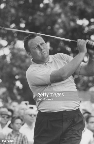 Billy Capser during the US open golf tournament