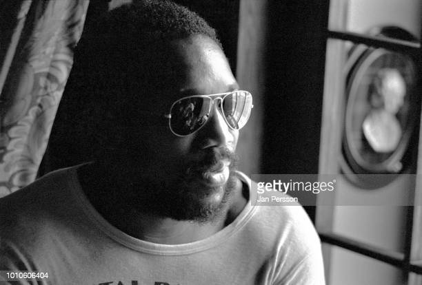Billy Cobham, Copenhagen 1975. American/Panamanian jazz drummer, composer and bandleader.