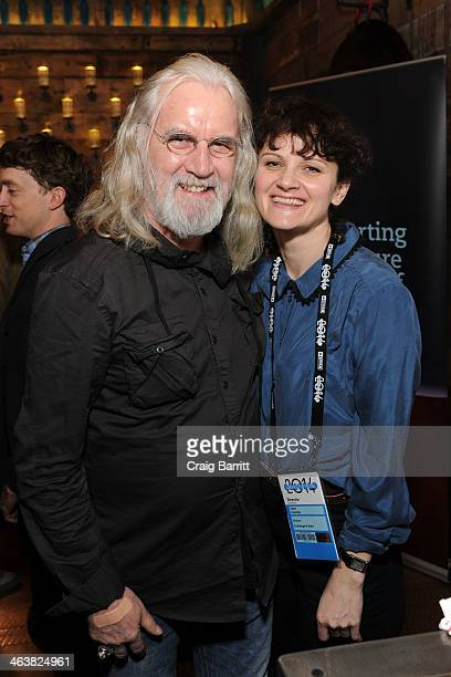 Billy Connolly and Cara Connolly attend the UK Film Party At Sundance 2014 on January 19 2014 in Park City Utah