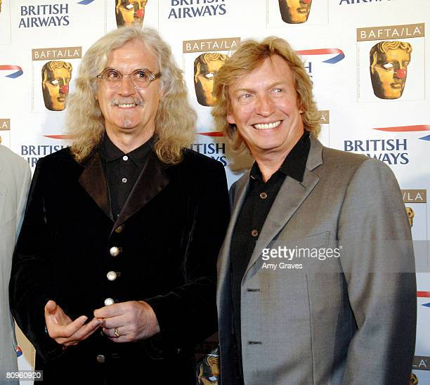 Billy Connolly and Nigel Lythgoe attends the BAFTA/LA British Comedy Awards Presented by British Airways on May 1 2008 in Beverly Hills California