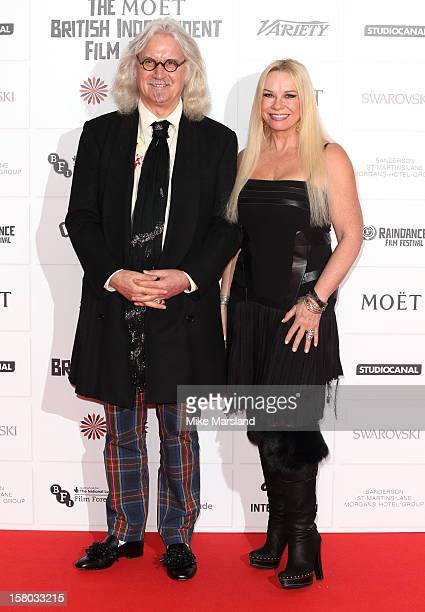 Billy Connolly and Pamela Stephenson attend the British Independent Film Awards at Old Billingsgate Market on December 9 2012 in London England