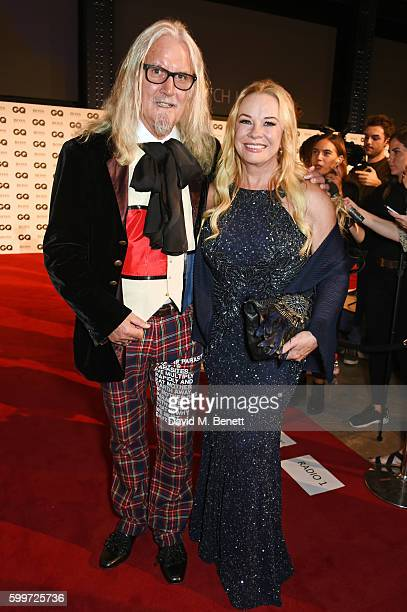 Billy Connolly and Pamela Stephenson attend the GQ Men Of The Year Awards 2016 at the Tate Modern on September 6 2016 in London England