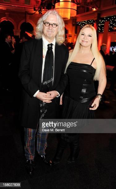 Billy Connolly and Pamela Stephenson attend the Moet British Independent Film Awards at Old Billingsgate Market on December 9 2012 in London England