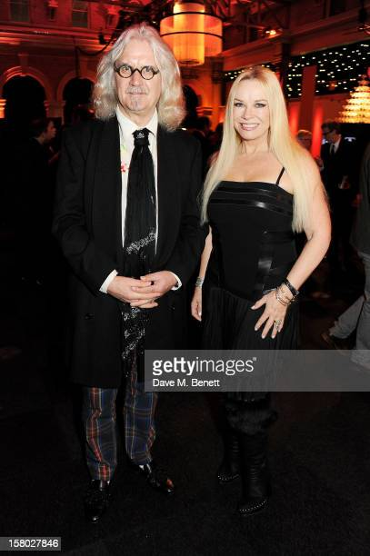 Billy Connolly and Pamela Stephenson attend the Moet British Independent Film Awards at Old Billingsgate Market on December 9 2012 in London England
