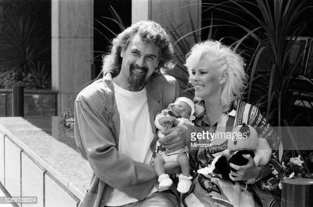 Billy Connolly and Pamela Stephenson with their baby daughter Amy 11th July 1986