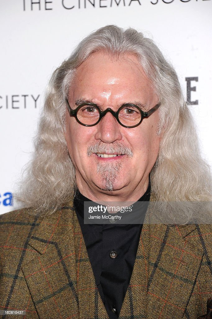 Billy Connolly attends Magnolia Pictures And Participant Media With The Cinema Society Present A Screening Of 'A Place At The Table' at MOMA - Celeste Bartos Theater on February 27, 2013 in New York City.