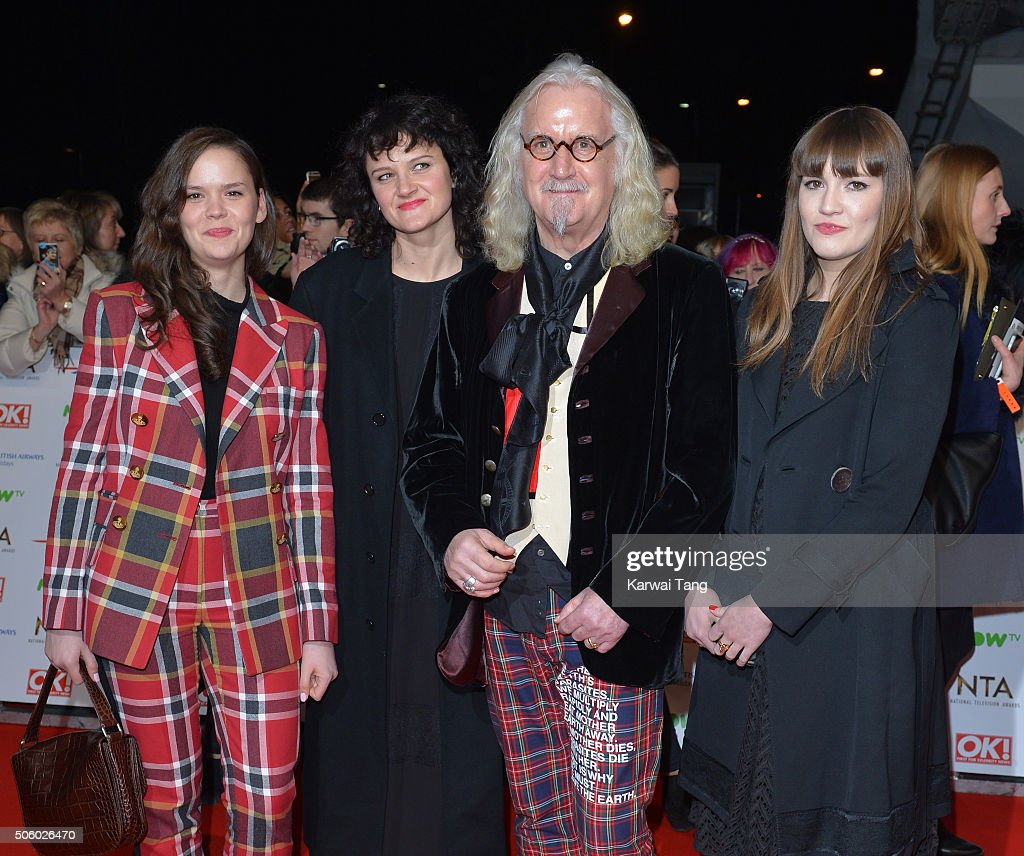 Billy Connolly (2nd R) attends the 21st National Television Awards at The O2 Arena on January 20, 2016 in London, England.