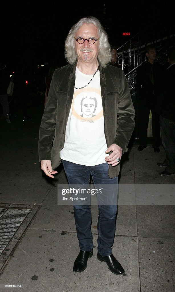 Billy Connolly attends The Cinema Society with Hugo Boss and Appleton Estate screening of 'Seven Psychopaths' at Clearview Chelsea Cinemas on October 10, 2012 in New York City.