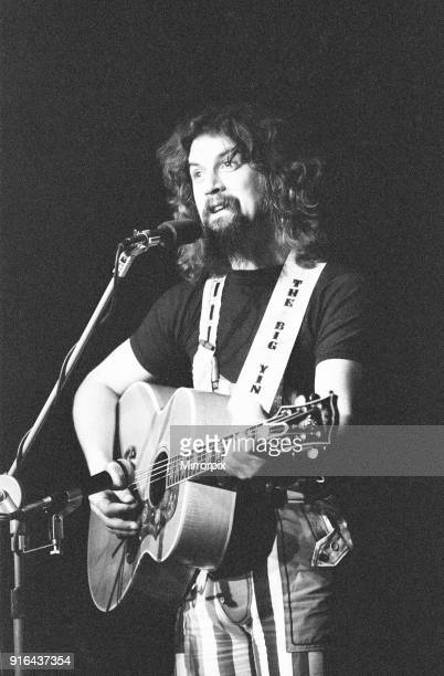 Billy Connolly in concert performing on stage at Durham University Durham as part of his 64 date Big Wee Tour of Britain Thursday 15th February 1979