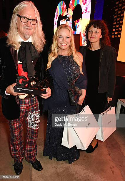 Billy Connolly Pamela Stephenson and Cara Connolly attend the GQ Men Of The Year Awards 2016 after party at the Tate Modern on September 6 2016 in...
