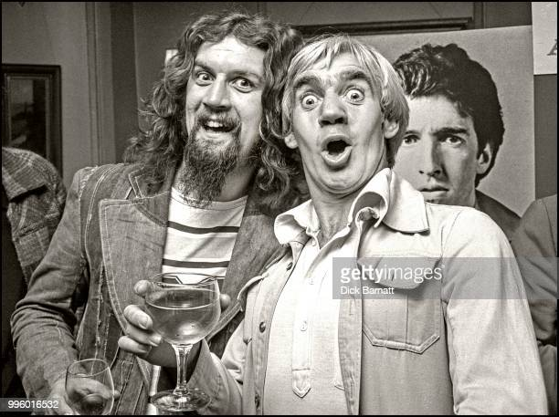 Billy Connolly with songwriter Bill Martin, London 1976.