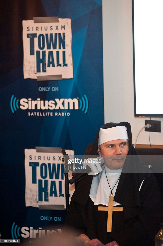 Billy Corgan attends SiriusXM's Town Hall With Marilyn Manson And Billy Corgan on August 6, 2015 in Chicago, Illinois.