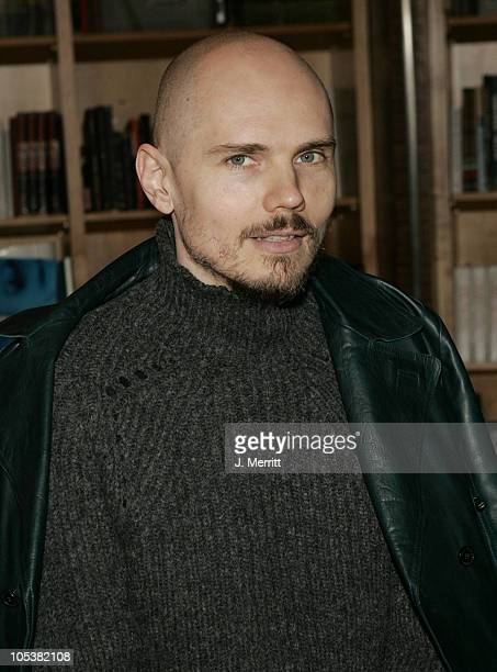 Billy Corgan during Billy Corgan's Blinking With Fists Book Signing at The Virgin Megastore in Hollywood California United States