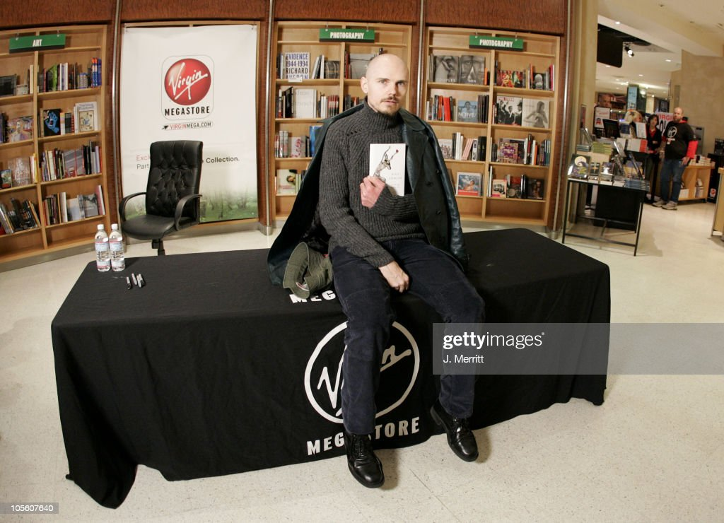 "Billy Corgan's ""Blinking With Fists"" Book Signing"