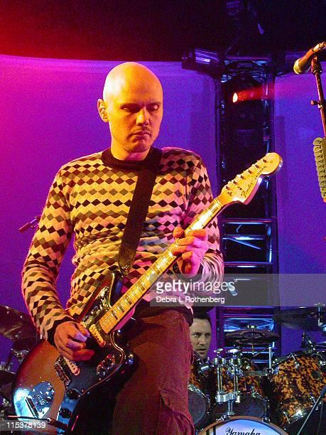 Billy Corgan during Zwan Live at the Hammerstein at Hammerstein ballroom in New York NY United States