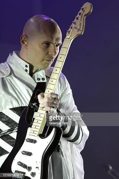 Billy Corgan of Smashing Pumpkins during Pinkpop Festival 2007 - Day 3 at Megaland in Landgraaf, Netherlands.