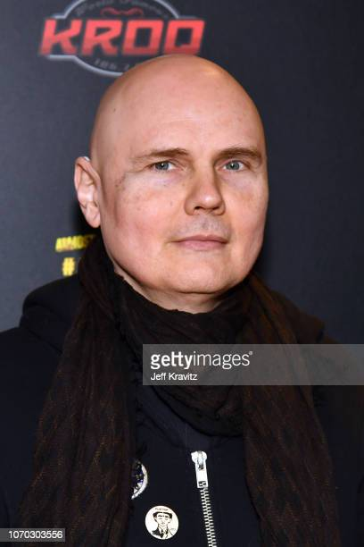Billy Corgan of The Smashing Pumpkins poses during KROQ Absolut Almost Acoustic Christmas 2018 at The Forum on December 8 2018 in Inglewood California
