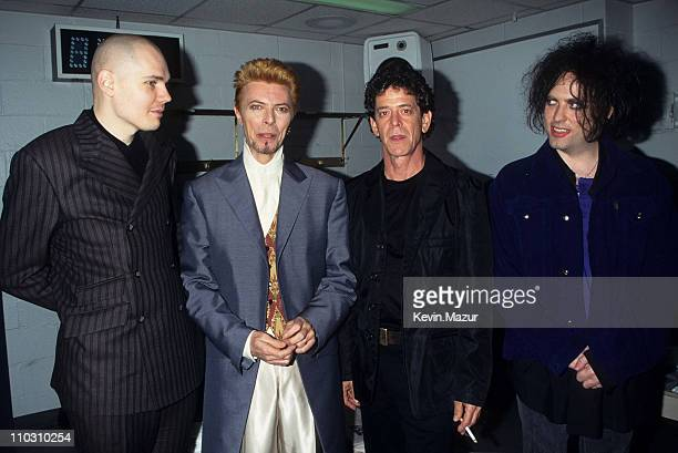 Billy Corgon David Bowie Lou Reed and Robert Smith