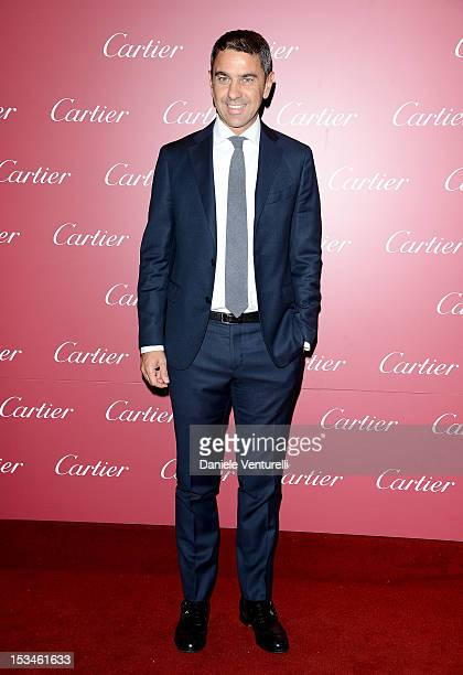 Billy Costacurta attends the Cartier Boutique reopening cocktail party on October 5 2012 in Milan Italy