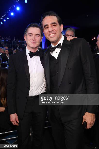 Billy Crudup and Bobby Cannavale attend the 26th Annual Screen Actors Guild Awards at The Shrine Auditorium on January 19 2020 in Los Angeles...
