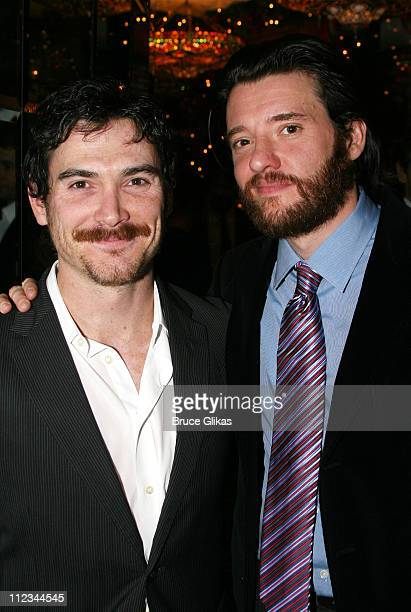 Billy Crudup and Jason Butler Harner during Opening Night of Tom Stoppard's The Coast of Utopia Voyage at Tavern On The Green in New York NY United...