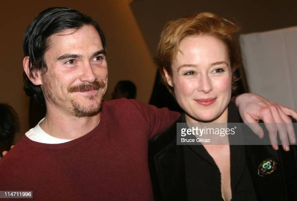 Billy Crudup and Jennifer Ehle during Shipwreck The Coast of Utopia Part 2 Opening Night Party at Avery Fisher Hall in New York City New York United...