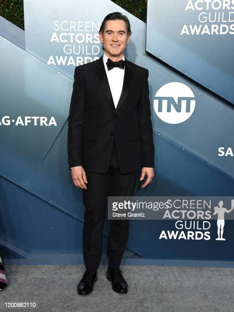 Billy Crudup arrives at the 26th Annual Screen ActorsGuild Awards at The Shrine Auditorium on January 19, 2020 in Los Angeles, California.