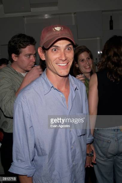 Billy Crudup at the afterparty for The 24 Hour Play special performance benefit to aid Working Playground at Spa in New York City 9/24/2001 Photo...