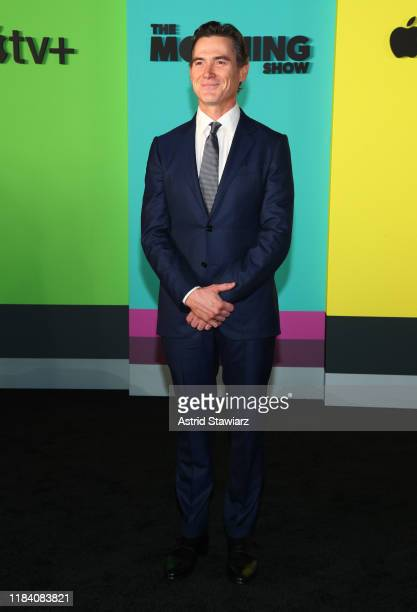 Billy Crudup attends Apple TV's The Morning Show World Premiere at David Geffen Hall on October 28 2019 in New York City