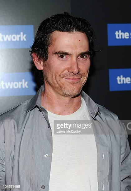 """Billy Crudup attends Columbia Pictures' and The Cinema Society's screening of """"The Social Network"""" at the School of Visual Arts Theater on September..."""