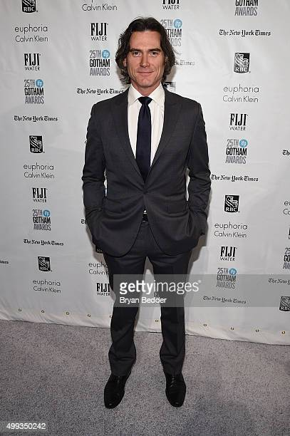 Billy Crudup attends the 25th IFP Gotham Independent Film Awards cosponsored by FIJI Water on November 30 2015 in New York City