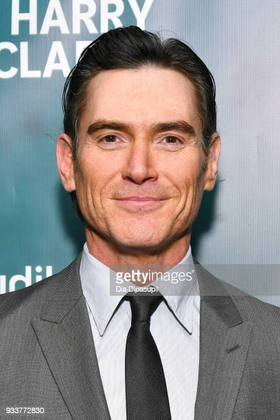 """Billy Crudup attends the """"Harry Clarke"""" Opening Night at the Minetta Lane Theatre on March 18, 2018 in New York City."""