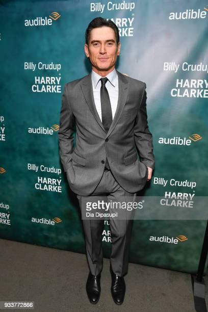 Billy Crudup attends the Harry Clarke Opening Night at the Minetta Lane Theatre on March 18 2018 in New York City
