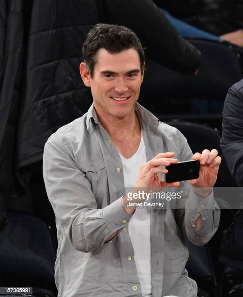Billy Crudup attends the Phoenix Suns vs New York Knicks game at Madison Square Garden on December 2 2012 in New York City
