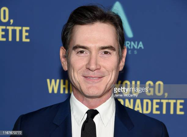 """Billy Crudup attends the """"Where'd You Go, Bernadette"""" New York Screening at Metrograph on August 12, 2019 in New York City."""