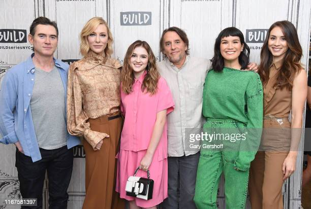 "Billy Crudup, Cate Blanchett, Emma Nelson, Richard Linklater, Zoe Chao and Troian Bellisario visit the Build Series to discuss the film ""Where'd You..."