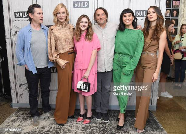 """Billy Crudup Cate Blanchett Emma Nelson Richard Linklater Zoe Chao and Troian Bellisario visit the Build Series to discuss the film """"Where'd You Go..."""